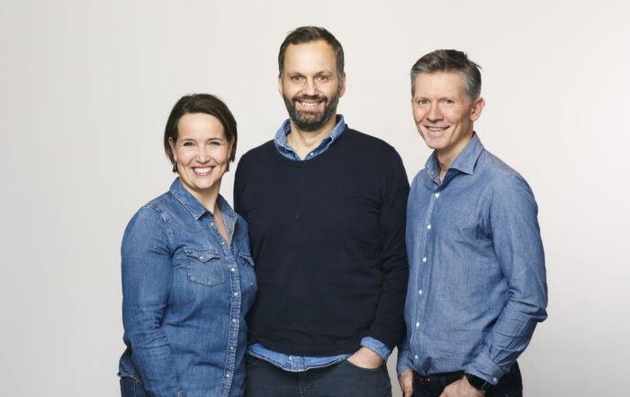 Linda, Rune og Jan